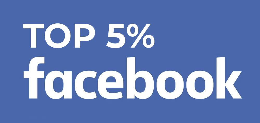 Top 5% Facebook